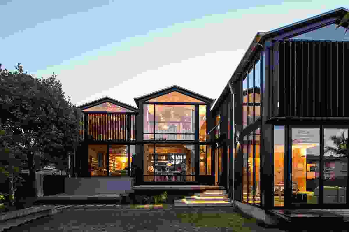 Housing winner: Boatsheds by SGA Ltd – Strachan Group Architects and Rachael Rush.
