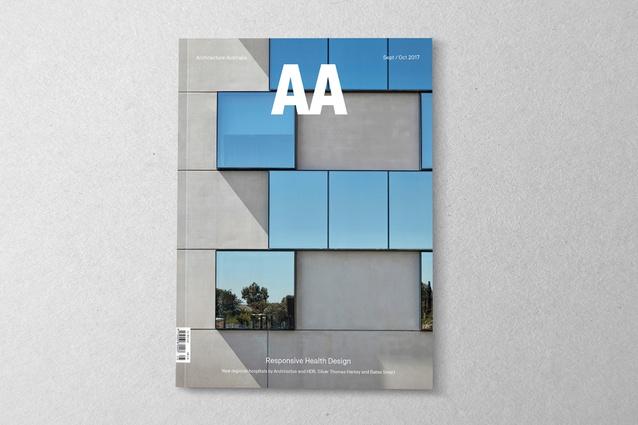 <i>Architecture Australia</i> September/October 2017.