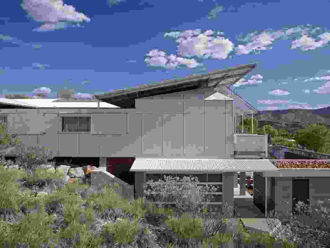 The Desert House by Dunn and Hillam Architects.