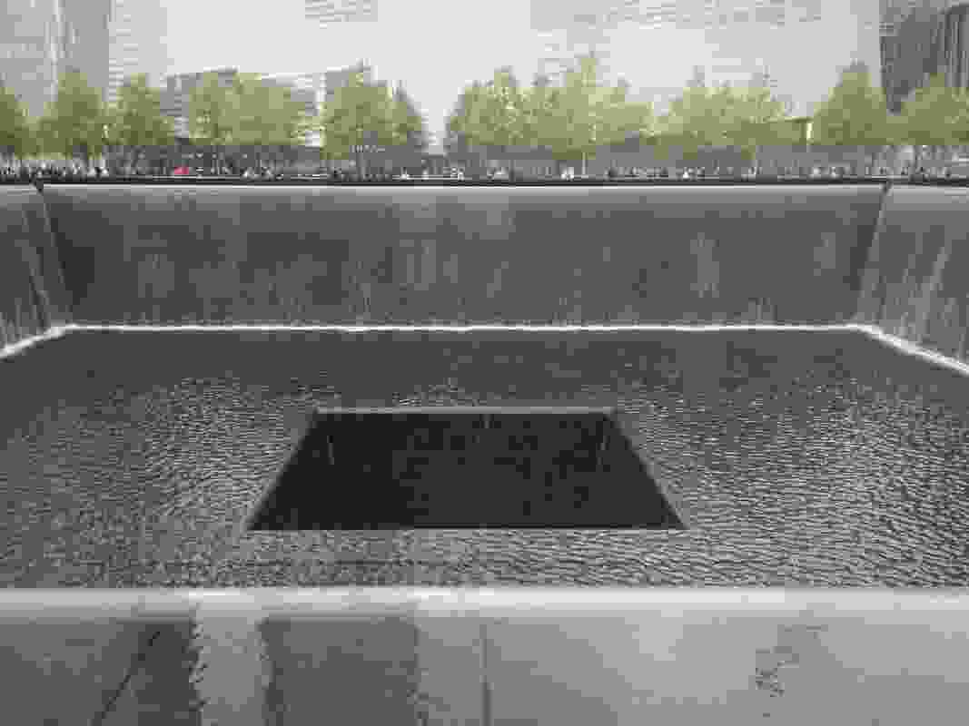 9/11 Memorial by Michael Arad of Handel Architects and Berkley-based landscape architecture practice, Peter Walker and Partners.