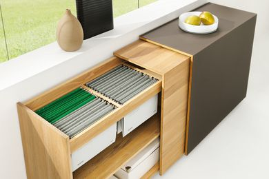 Cubus sideboard system by Team 7.