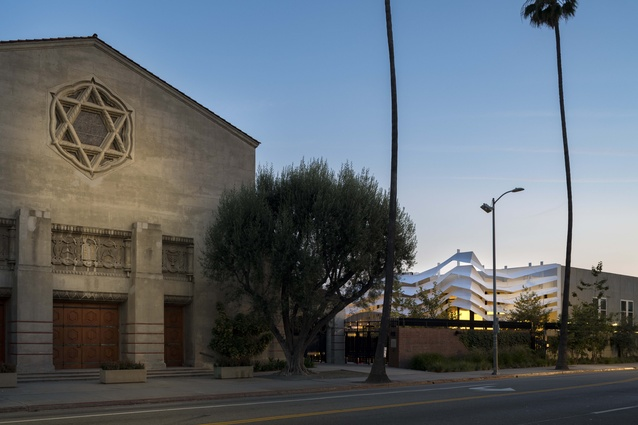 Temple Israel of Hollywood by Koning Eizenberg Architecture.