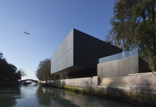 The Australian pavilion by Denton Corker Marshall in Venice.