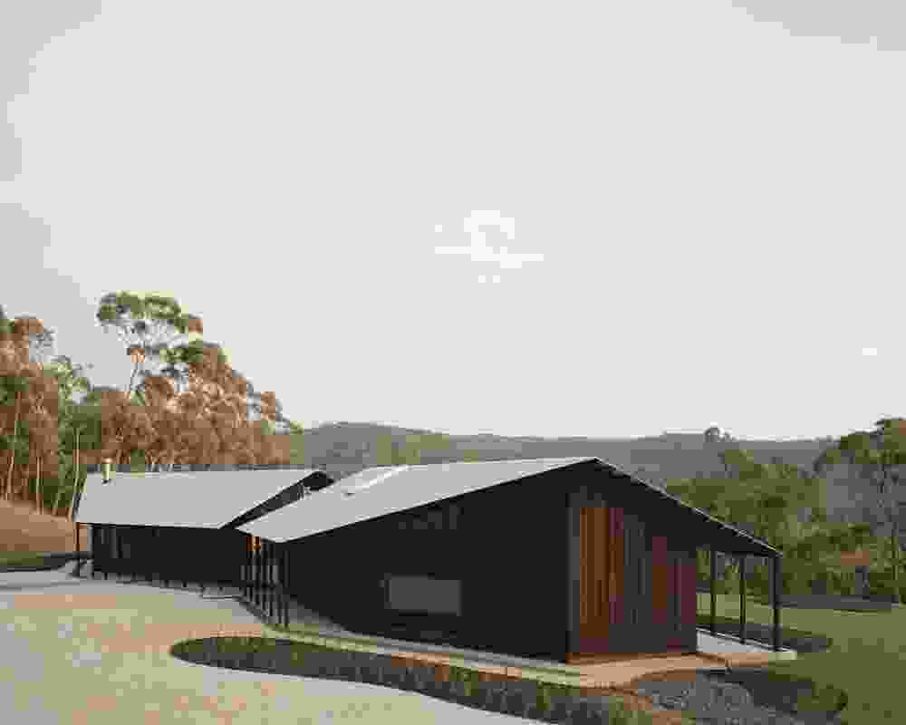 Commendation for Residential Architecture – Houses (New): Two Sheds by Dreamer with Roger Nelson.