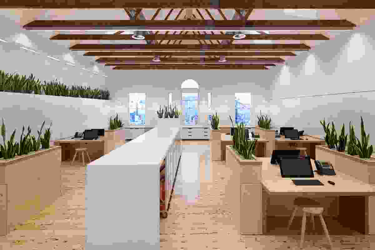 Sustainable Headquaters for Birkenstock Australia by Melbourne Design Studios (MDS).