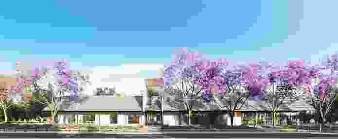Parramatta Park Cafe by Sam Crawford Architects.