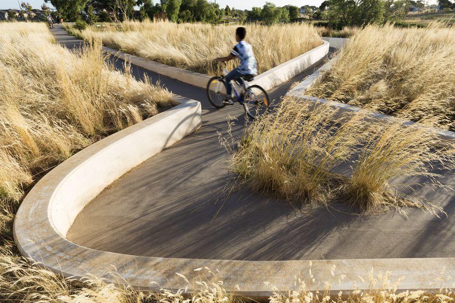 Wooten Road Reserve Interpretation Space by GLAS Urban.