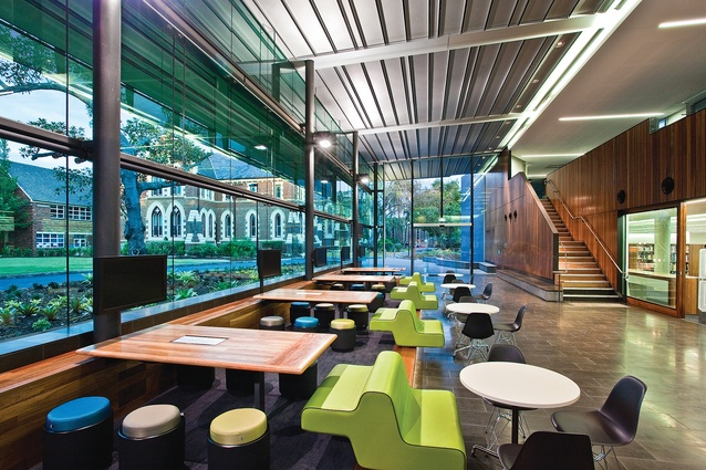 Lilley Centre, Brisbane Grammar School by Wilson Architects.