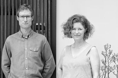 Chris Bligh and Sonia Graham — Bligh Graham Architects.