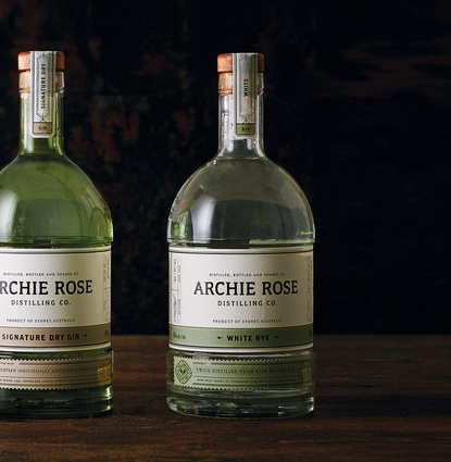 Archie Rose Distilling Co. Identity (Rosebery, New South Wales) by Squad Ink