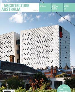 Architecture Australia, September 2011