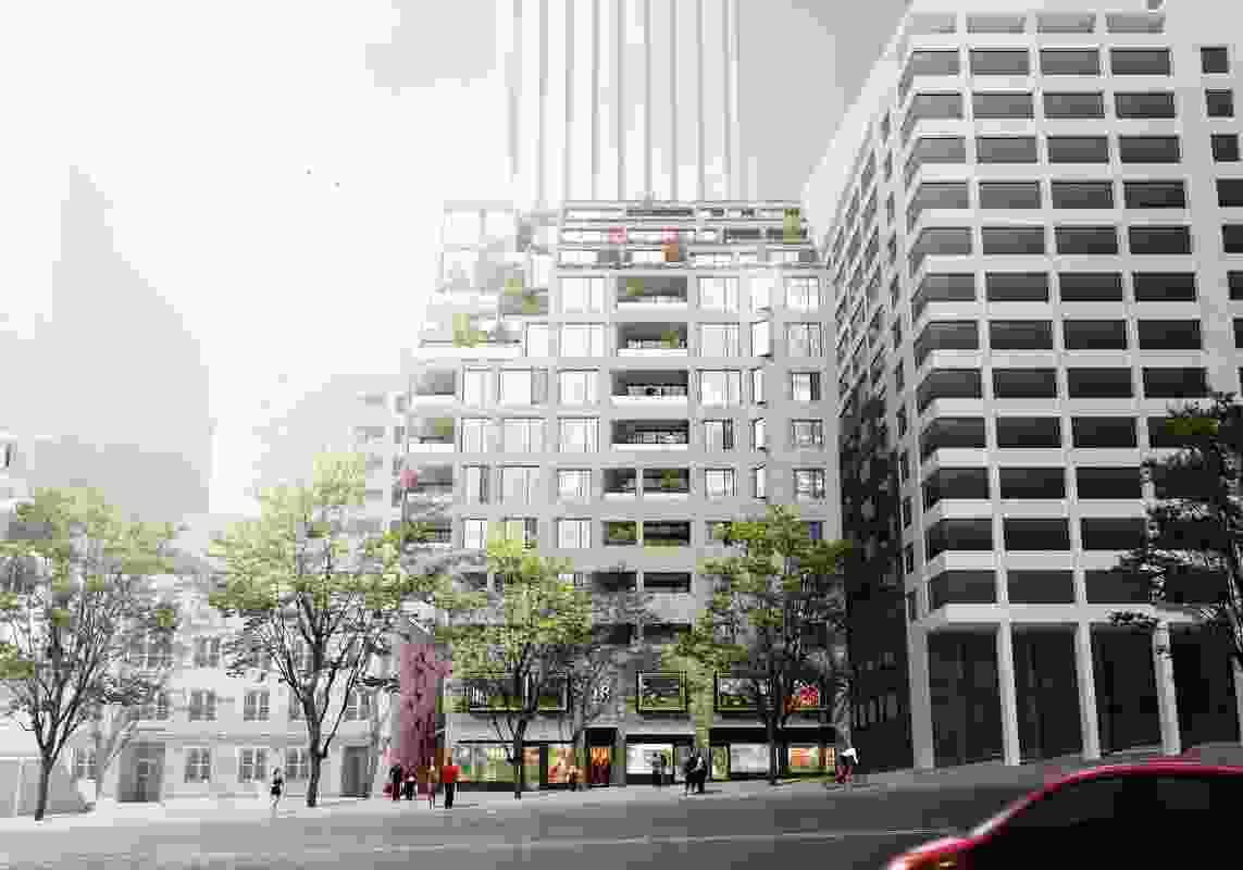 Loftus Lane by Silvester Fuller.