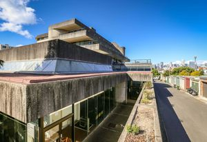 Bidura Metropolitan Remand Centre by the NSW Government Architect's Office, led by J.W. (Ian) Thomson.