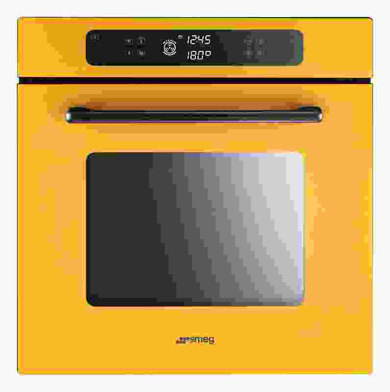 Marc has produced a range of brightly coloured ovens and cooktops for Smeg.