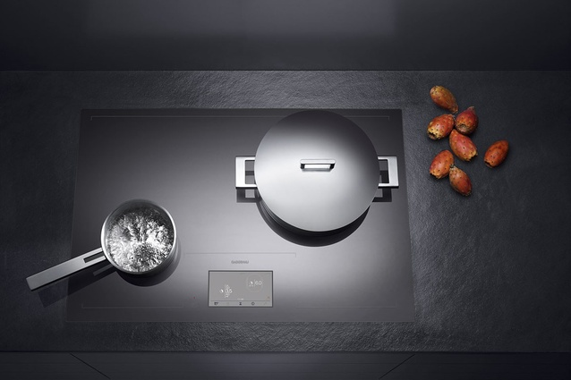 CX 480 induction cooktop.