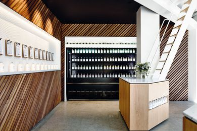 Greene Street Juice Co. (Prahran, Victoria) by Travis Walton Architecture