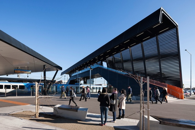 South Morang Rail Extension by Cox Architecture.
