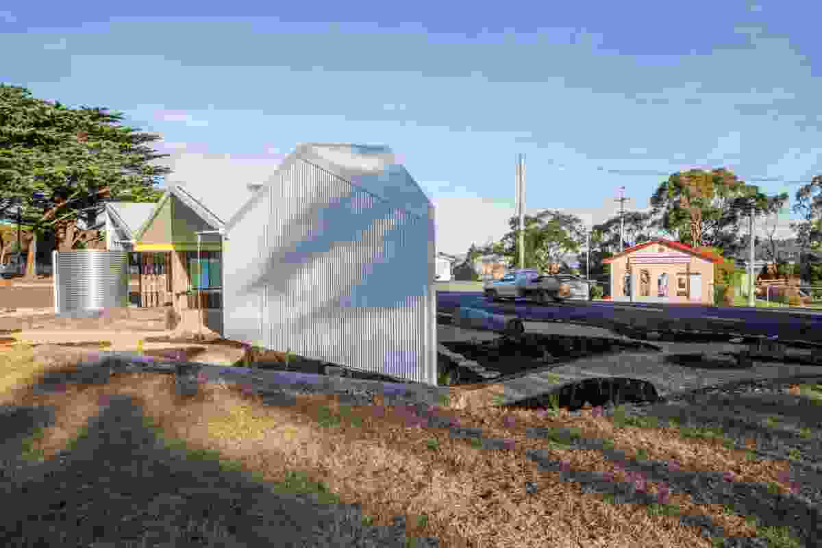Triabunna Gatehouse by Gilby and Brewin Architecture.