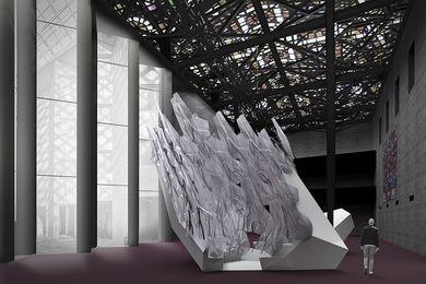 Floe, architecture by Studio Roland Snooks, sound art by Philip Samartzis, research and development by RMIT University.