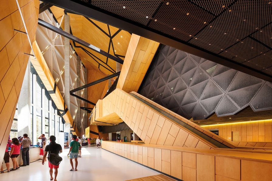 Perth Arena is shortlisted in the 2013 National Architecture Awards.