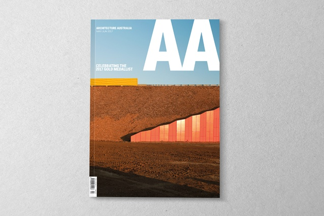<i>Architecture Australia</i> May/June 2017.