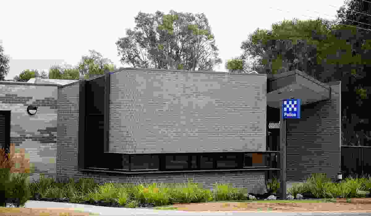 Pyalong Police Station (Vic) by Judd Lysenko Marshall Architects.