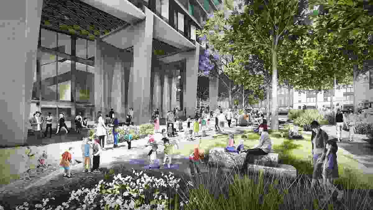 Market Street Park by Oculus.