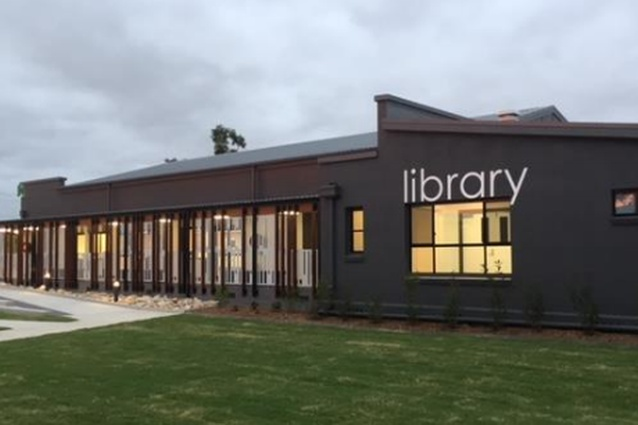 Laidley Library by Fulton Trotter Architects.