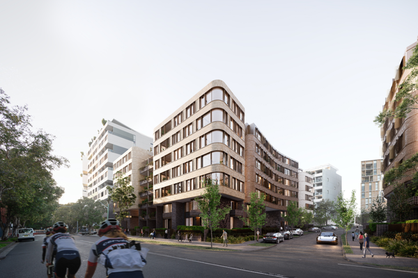 888 Bourke Street, Zetland by PTW Architects.