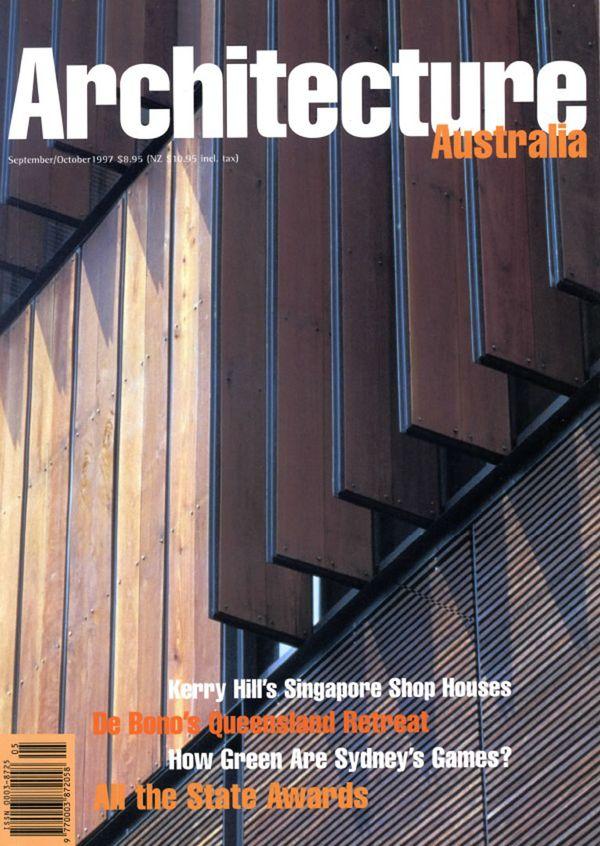 Architecture Australia, September 1997