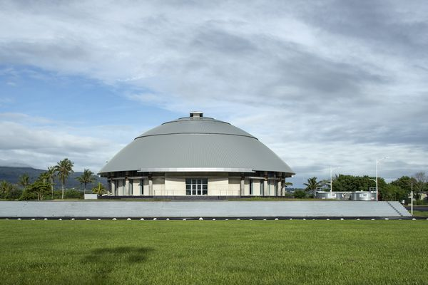 Commendation for Public Architecture: Parliament of Samoa - Maota Fono (Samoa) by Guida Moseley Brown Architects.