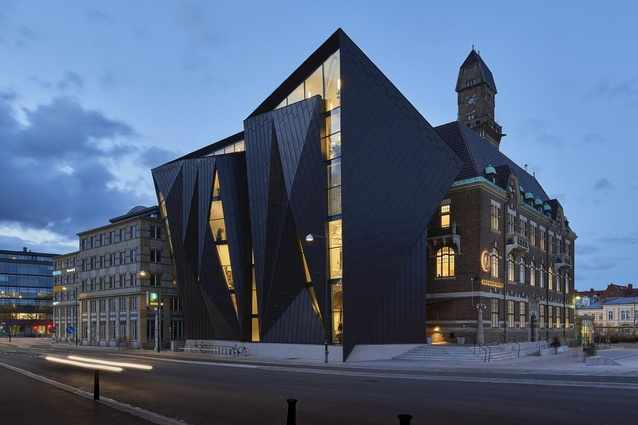 World Maritime University (Sweden) by Terroir and Kim Utzon Architecture.