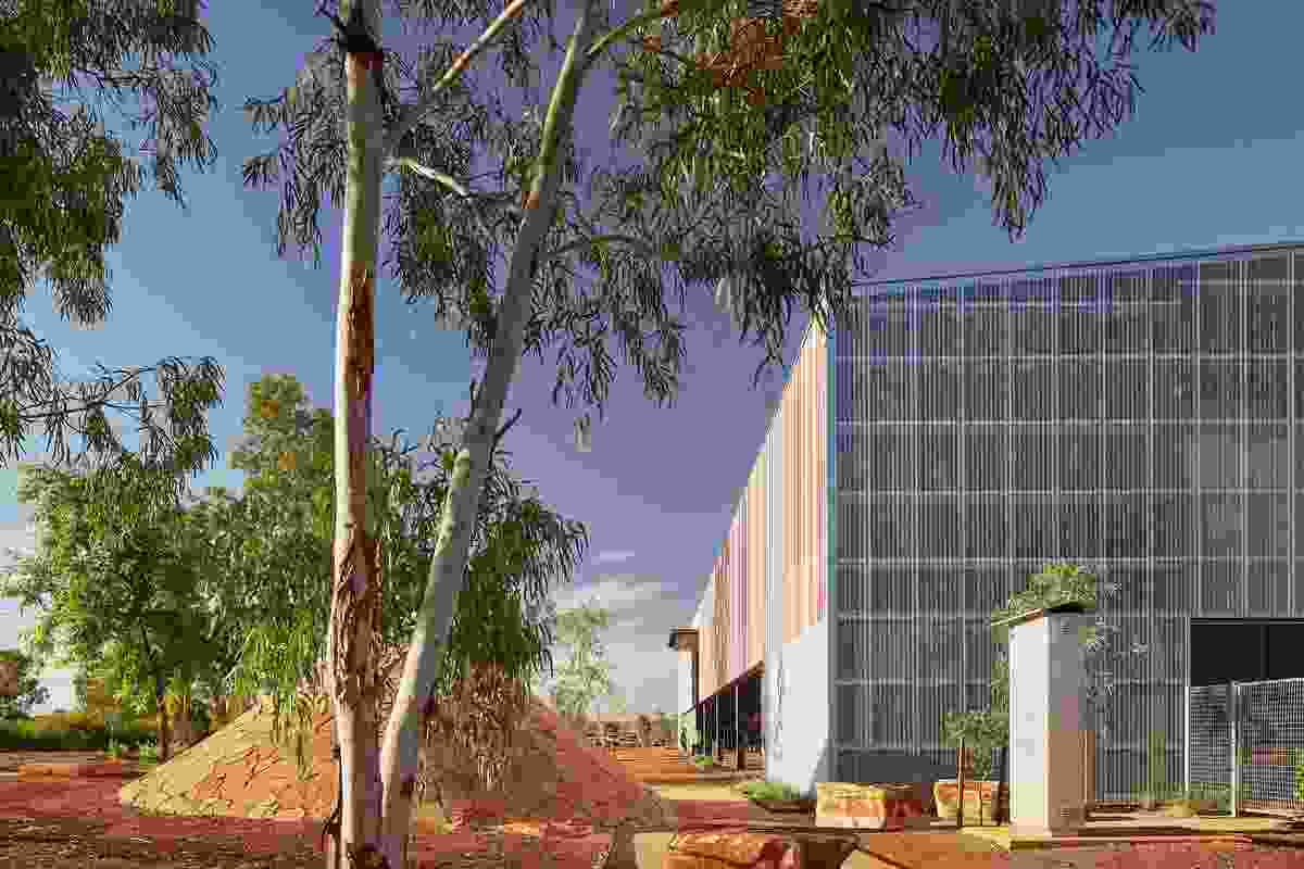 East Pilbara Arts Centre by Officer Woods Architects.