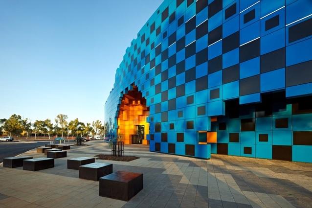 Wanangkura Stadium by ARM Architects.
