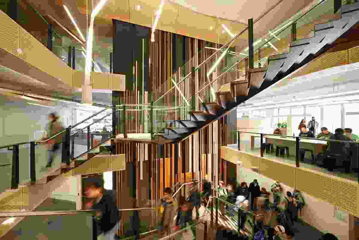 Public Design – The University of Adelaide Innova21 by DesignInc.