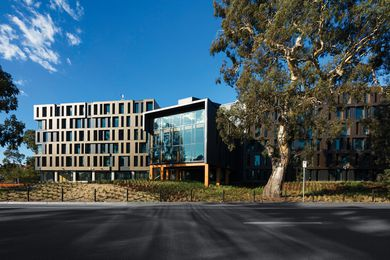 RMIT Bundoora West Student Accommodation by Richard Middleton Architects (RMA).