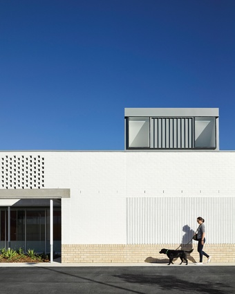 North Lakes Veterinary Hospital is the seventh vet clinic designed by Stuart Vokes and Aaron Peters.